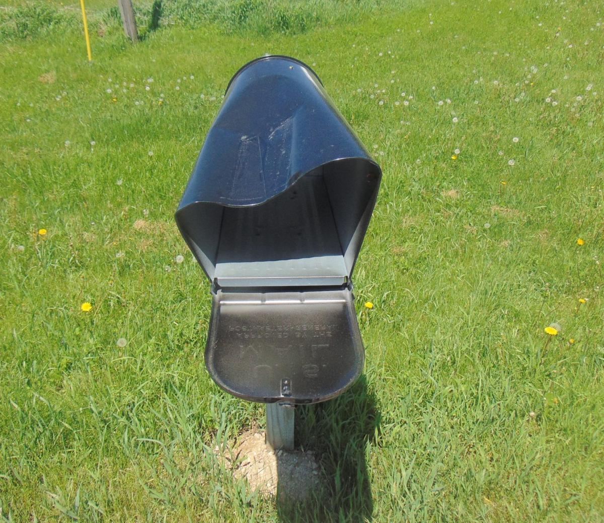 Mailbox damage
