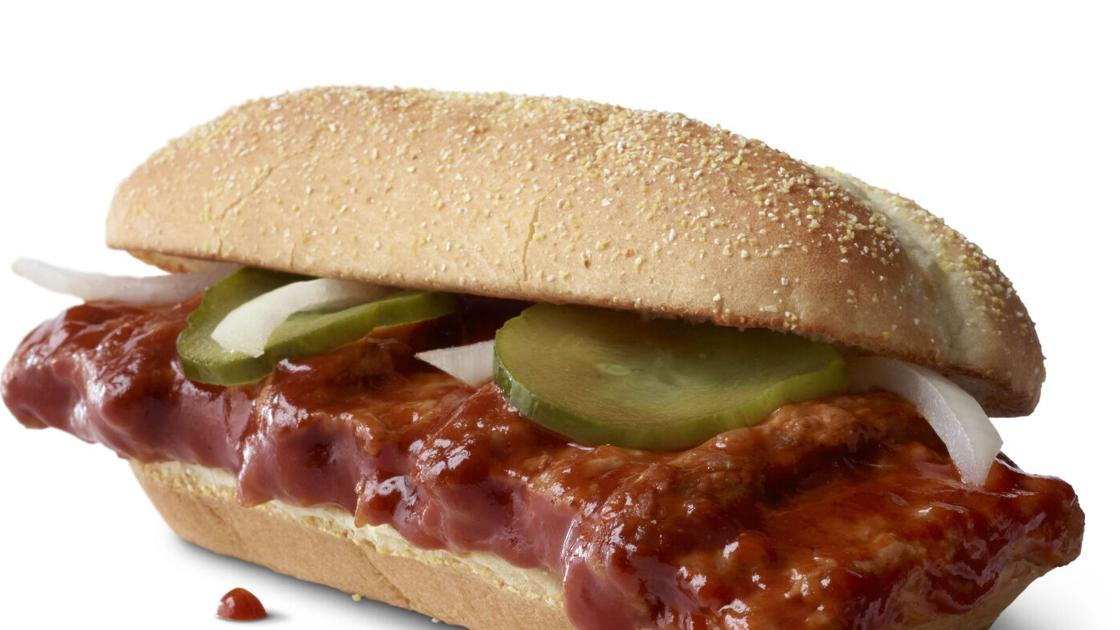 McDonald's is finally bringing back the McRib nationwide