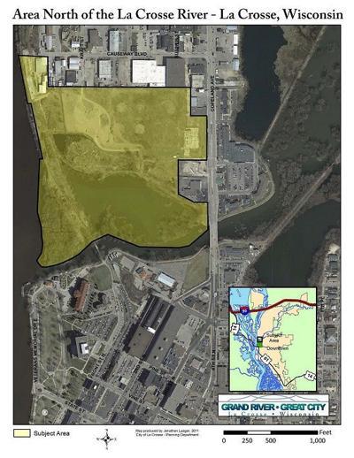 Riverside North map