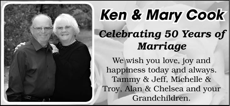 Ken & Mary Cook