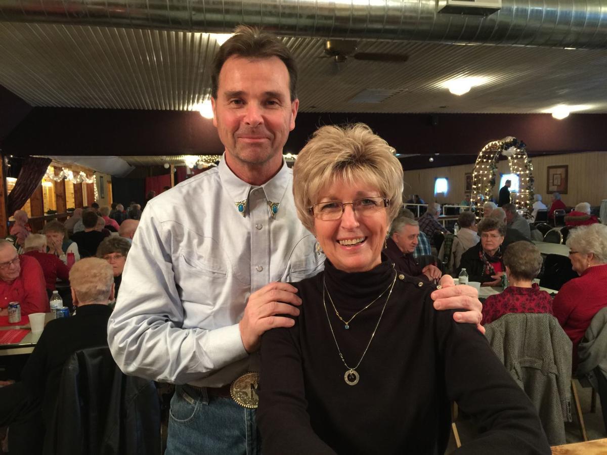 Mark Goggin and Judy Anderson