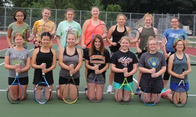 Viroqua High School girls tennis team 2019