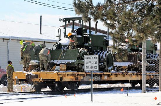 Fort McCoy Exercise hones skills at loading rail cars in