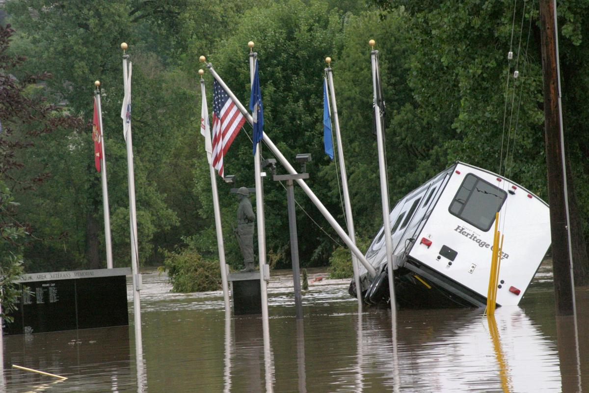 Aug. 28: Coon Valley flooding