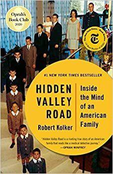 Book cover: 'Hidden Valley Road' by Robert Kolker