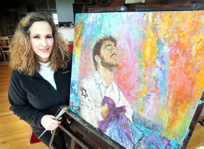 La Crosse Womans Jesus Paintings Illustrate Jewish Christian Links
