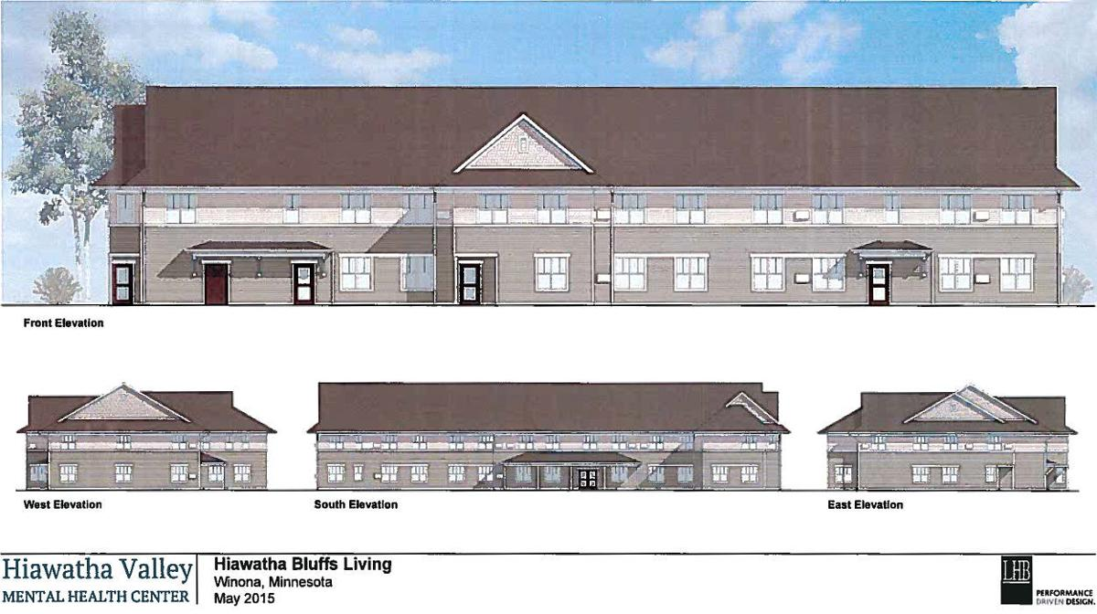 Hiawatha Bluffs Living Project Approved Facility Groundbreaking Set