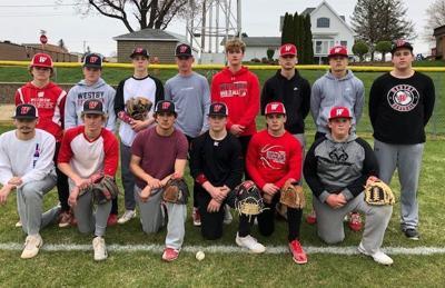 Westby High School baseball team 2021