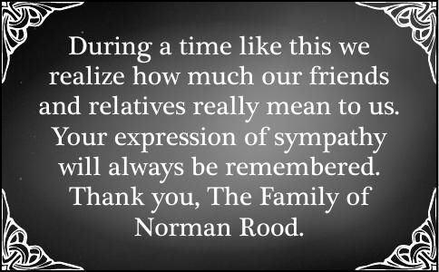 Norman Rood