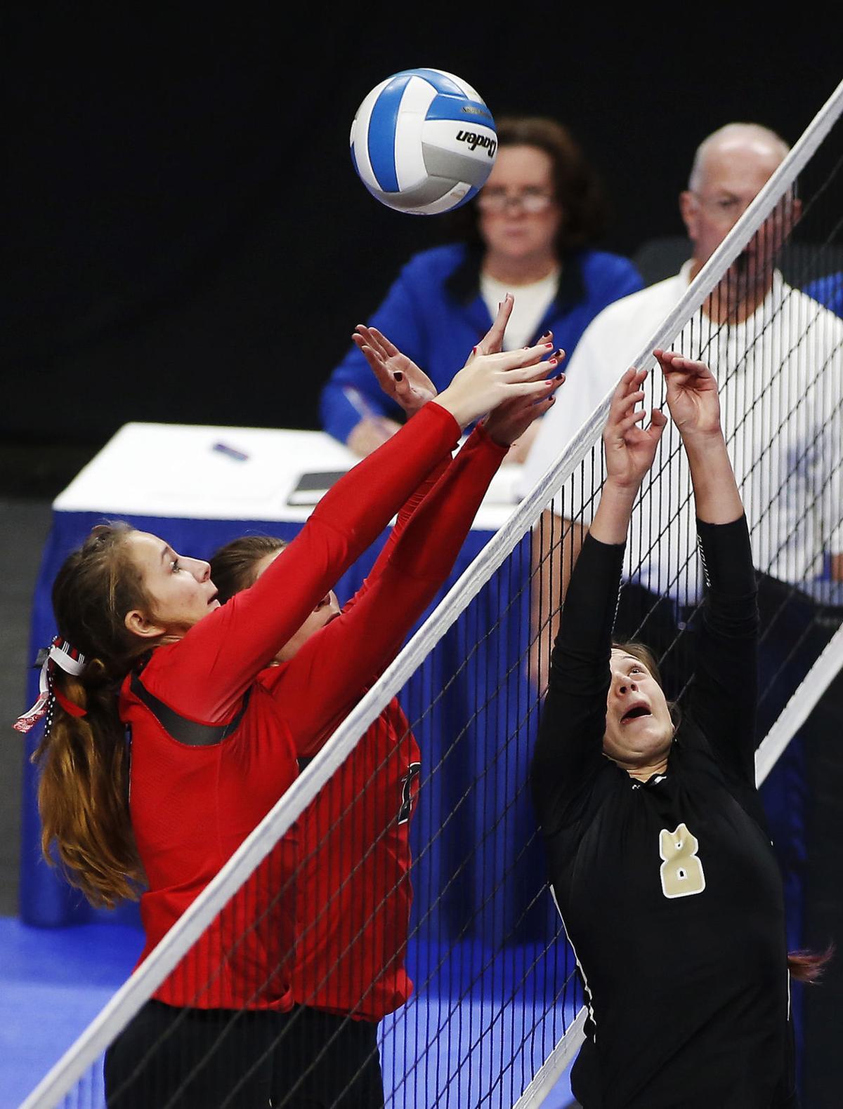 High school volleyball: Tough schedule prepares Caledonia Warriors for postseason run