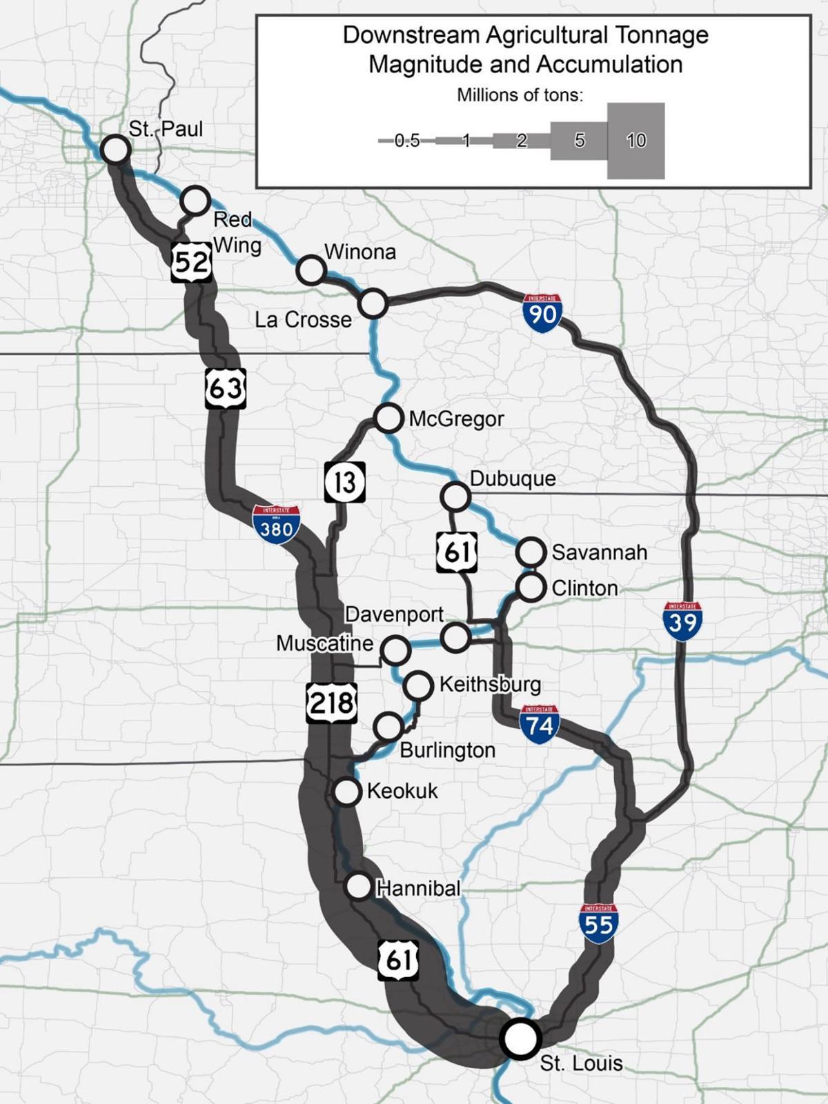 River diversion map