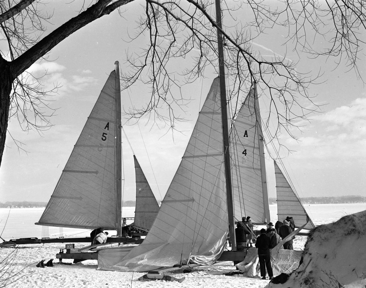 ICEBOATS ON LAKE MONONA 4