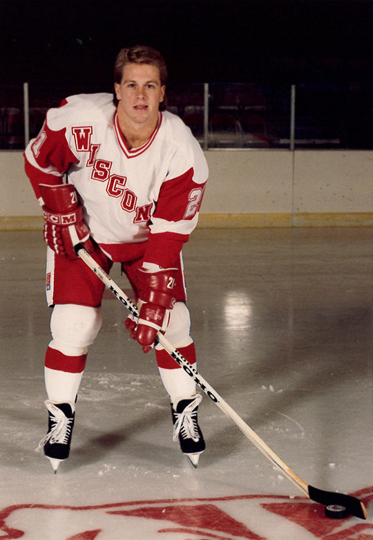 Andringa-UW hockey photo