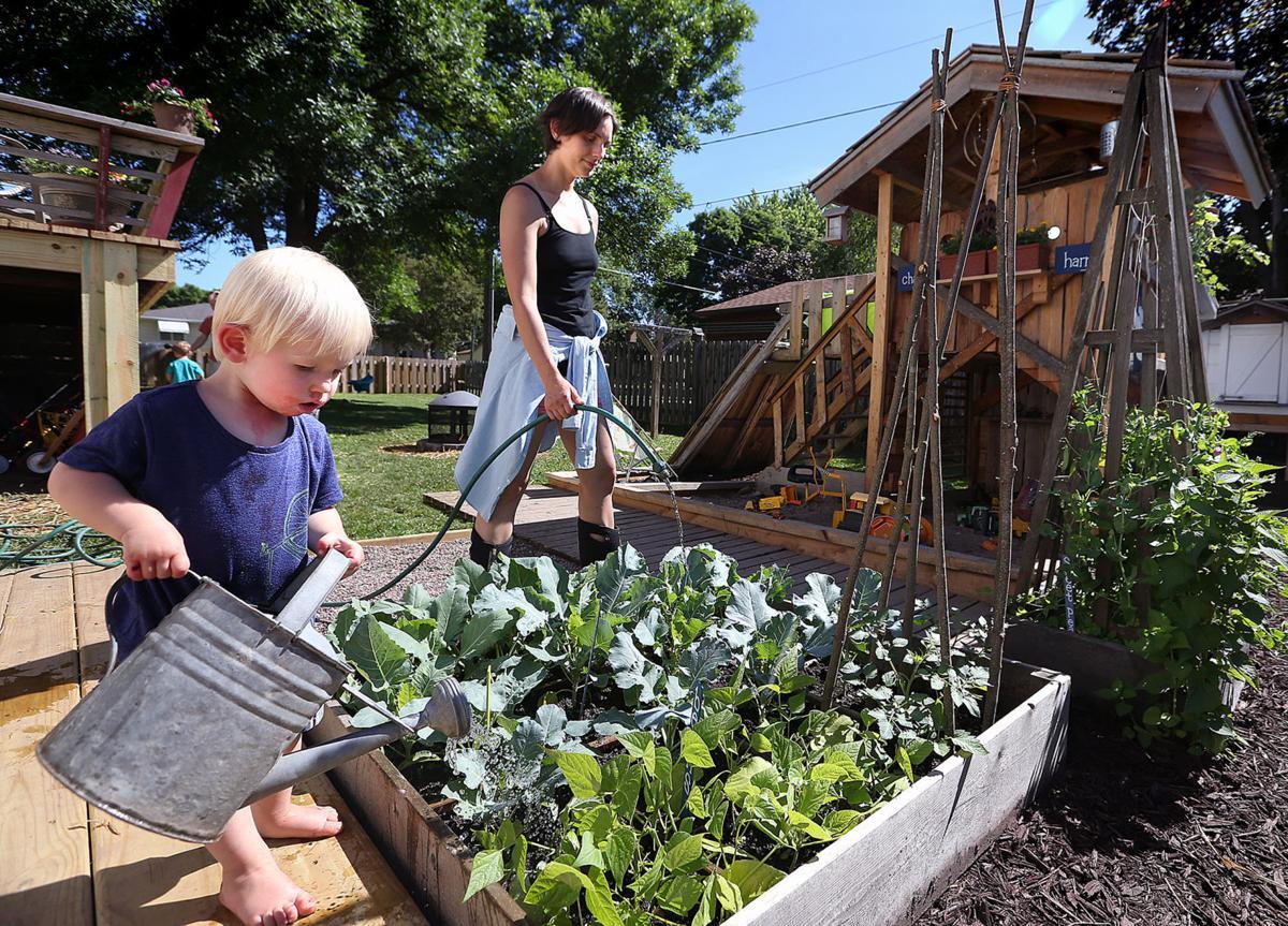 backyard in sparta grows into garden wonderland home and garden