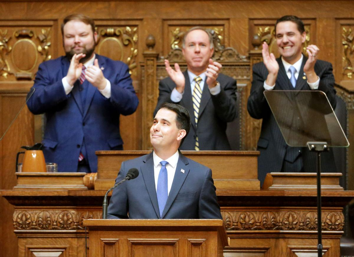 Scott Walker says he's open to making child tax credit nonrefundable