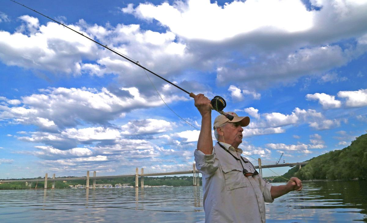 Dennis Anderson: Making every cast count fly fishing on the St. Croix River