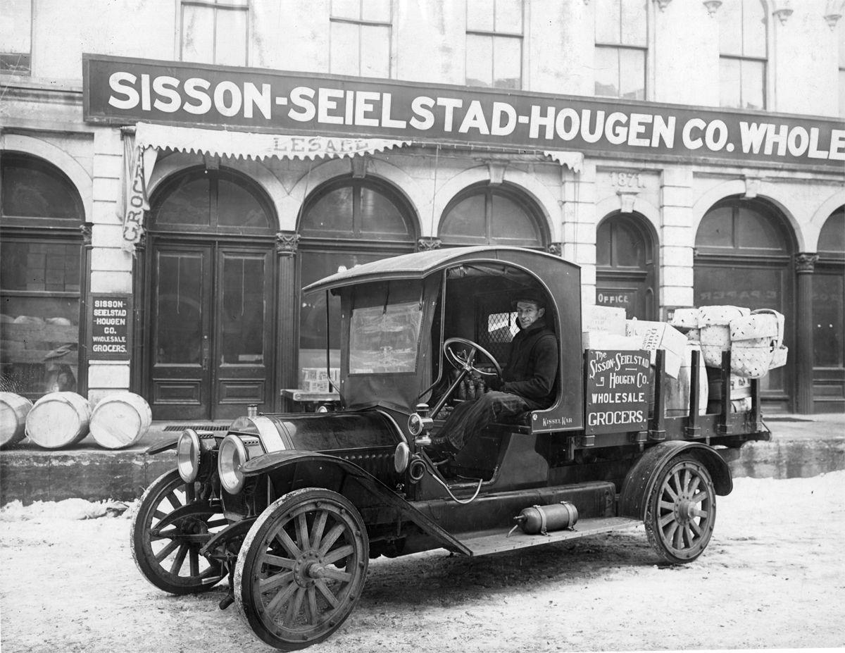 The Way it Was: 1915 Open Cab Delivery