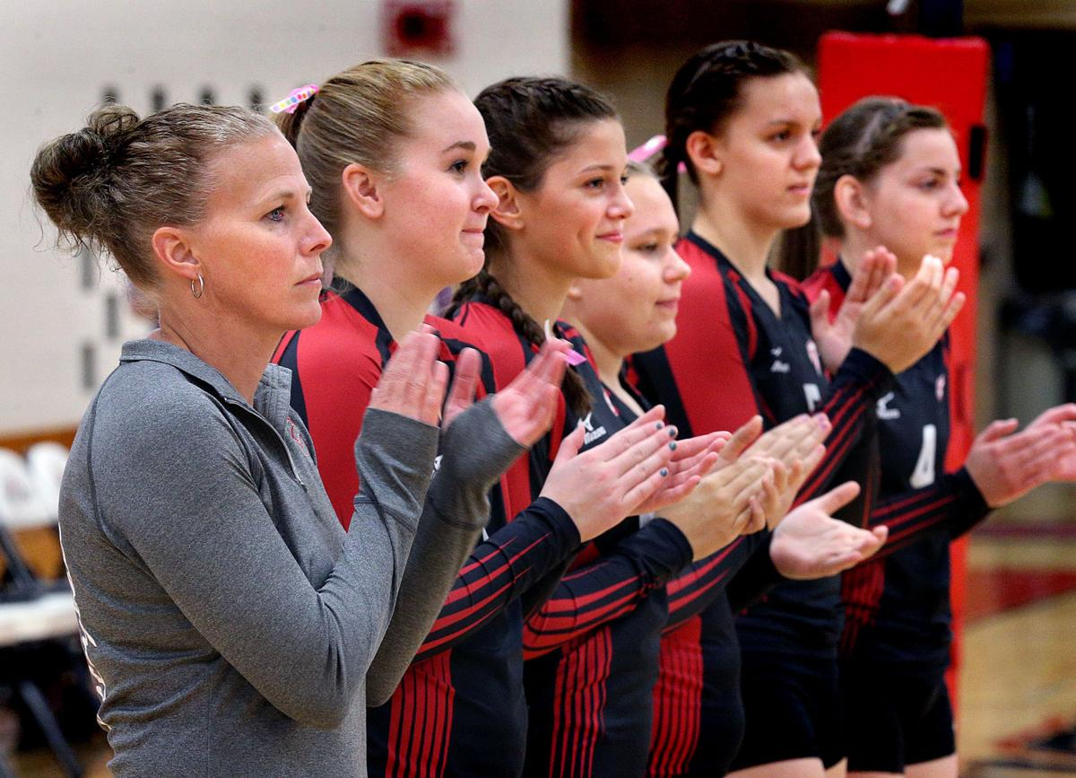 High school volleyball: Bangor Cardinals make early season adjustments, turn season around