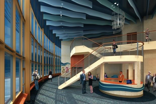 New La Crosse Community Theater interior