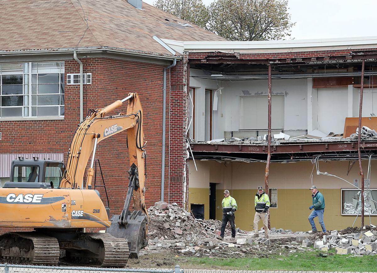 Fauver Hill School demolition