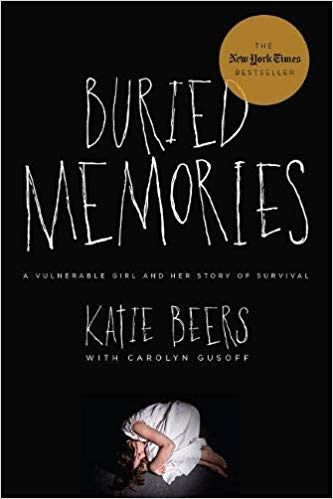 Book cover: 'Buried Memories' by Katie Beers and Carolyn Gusoff