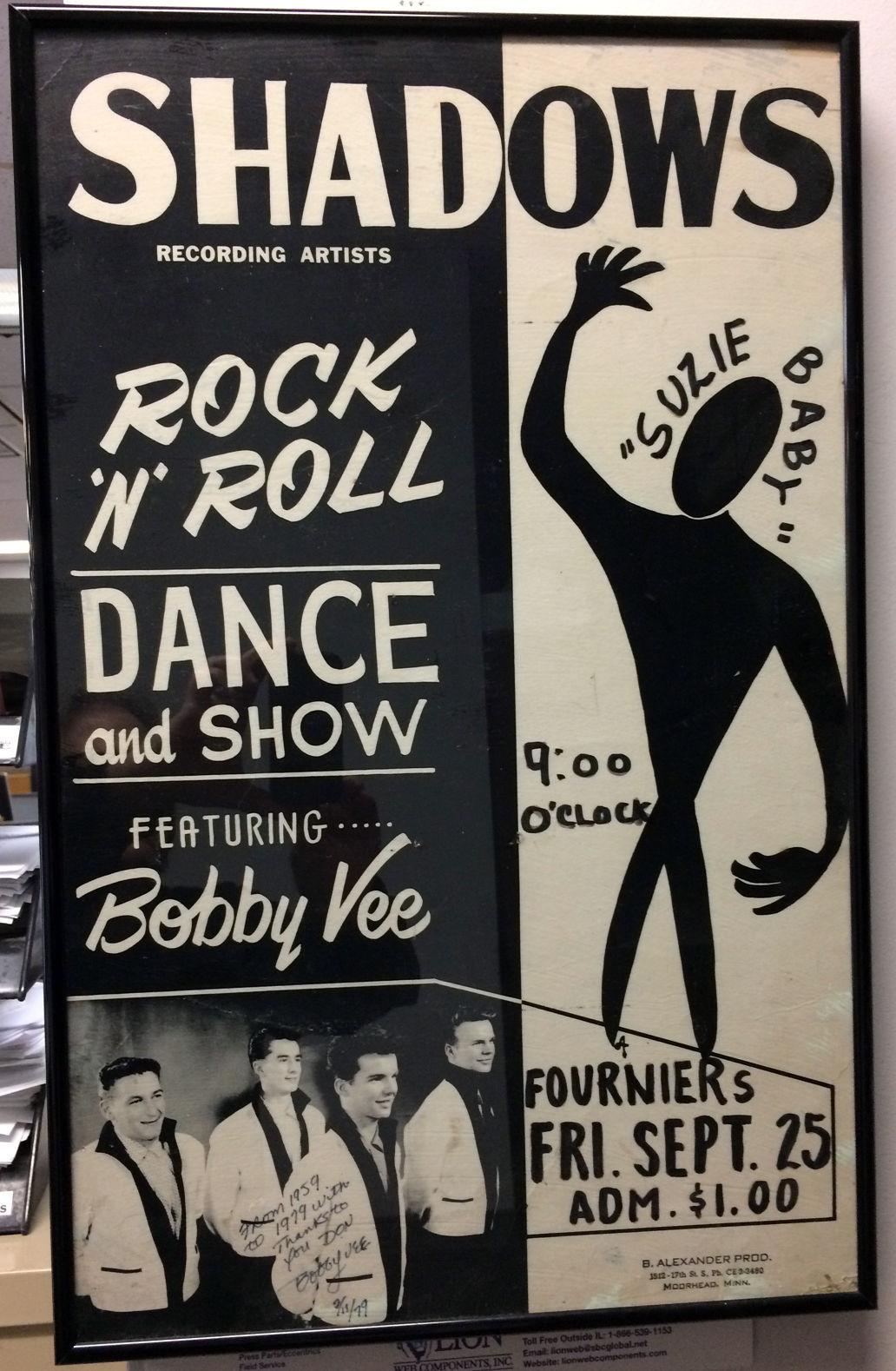 Bobby Vee poster