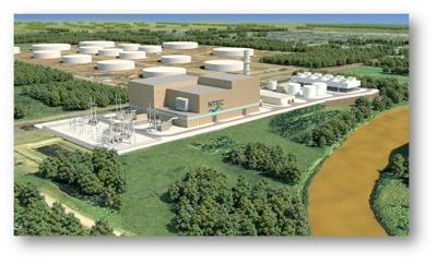 Dairyland Power Cooperative natural gas plant