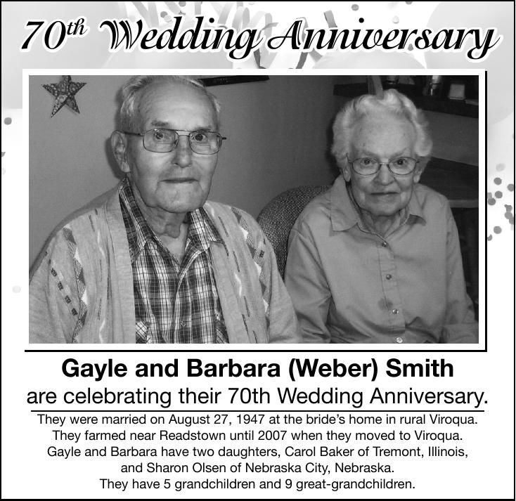 Gayle and Barbara (Weber) Smith