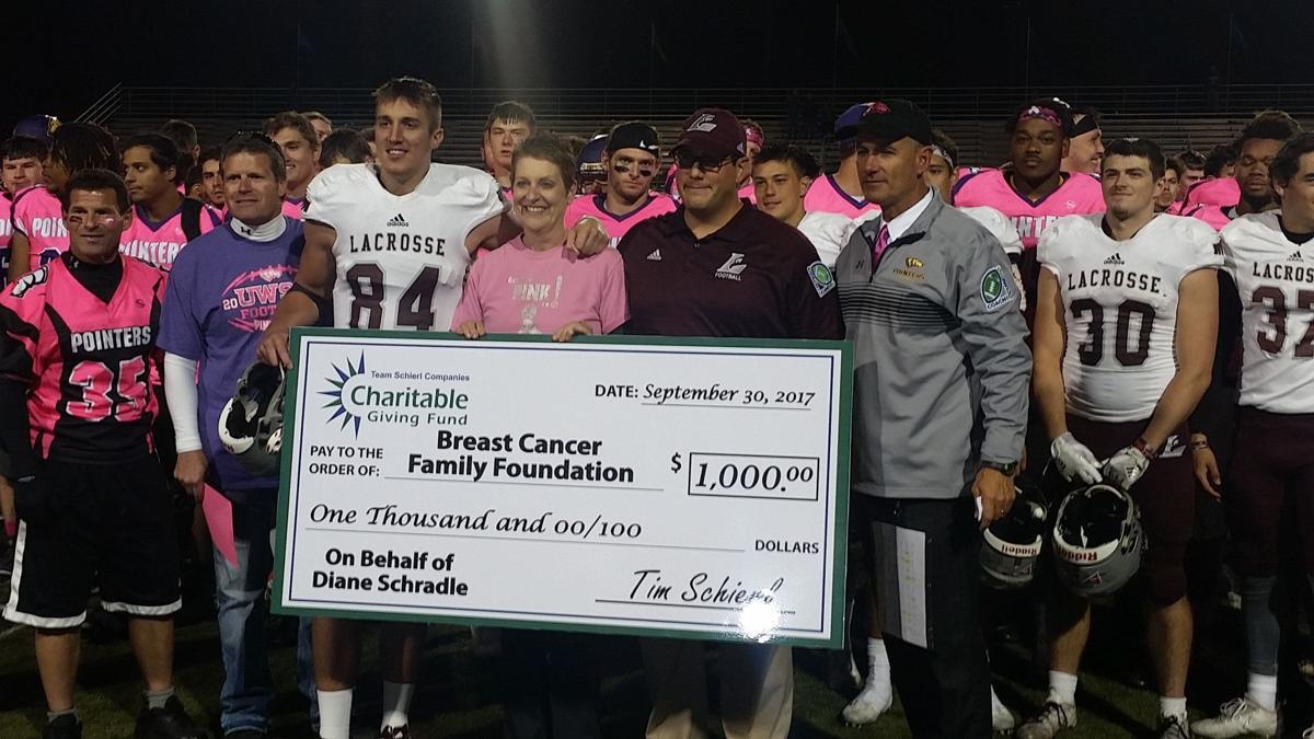 UW-La Crosse football: Zach Schradle draws strength from mom's fight with cancer