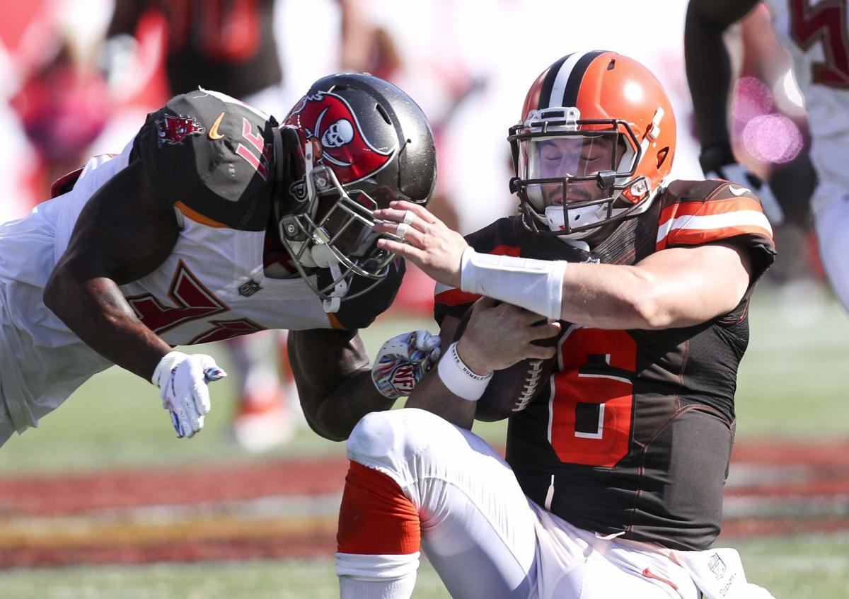 a9433ff96 SPORTS-WHEN-IT-COMES-TO-FREE-PT.jpg. Browns quarterback Baker Mayfield ...