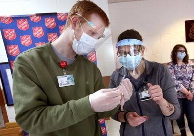 COVID vaccine at Salvation Army
