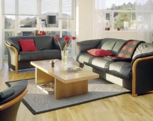 Ekornes Sofa & Loveseat