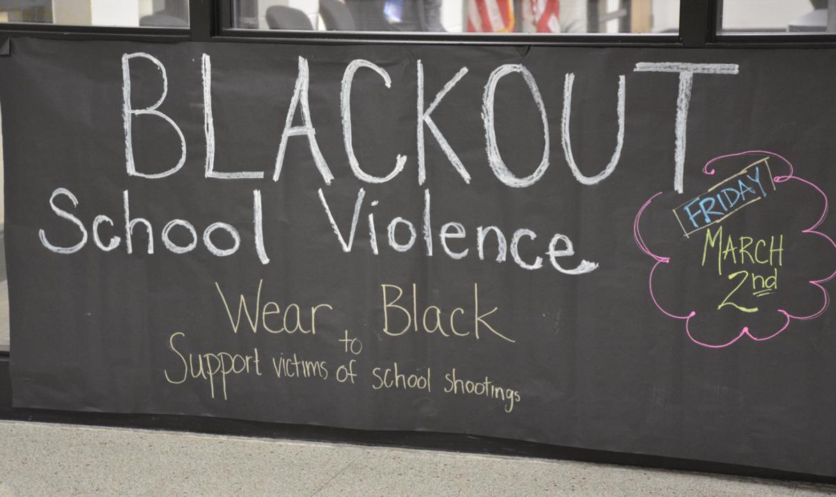 Blackout school violence