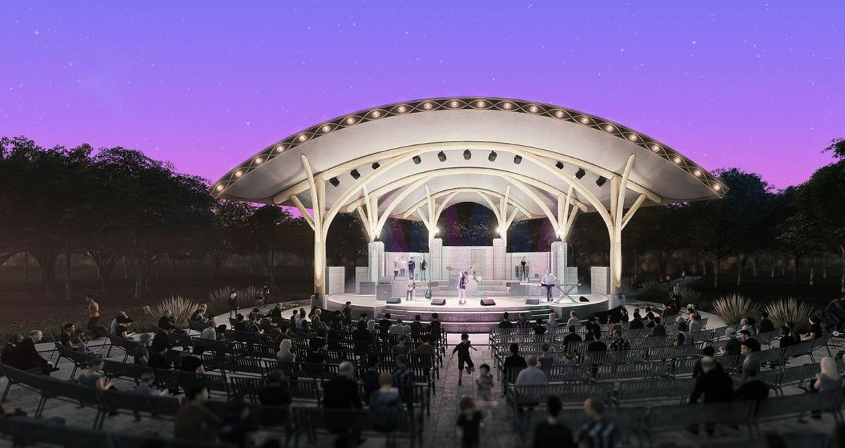 Riverside Park band shell