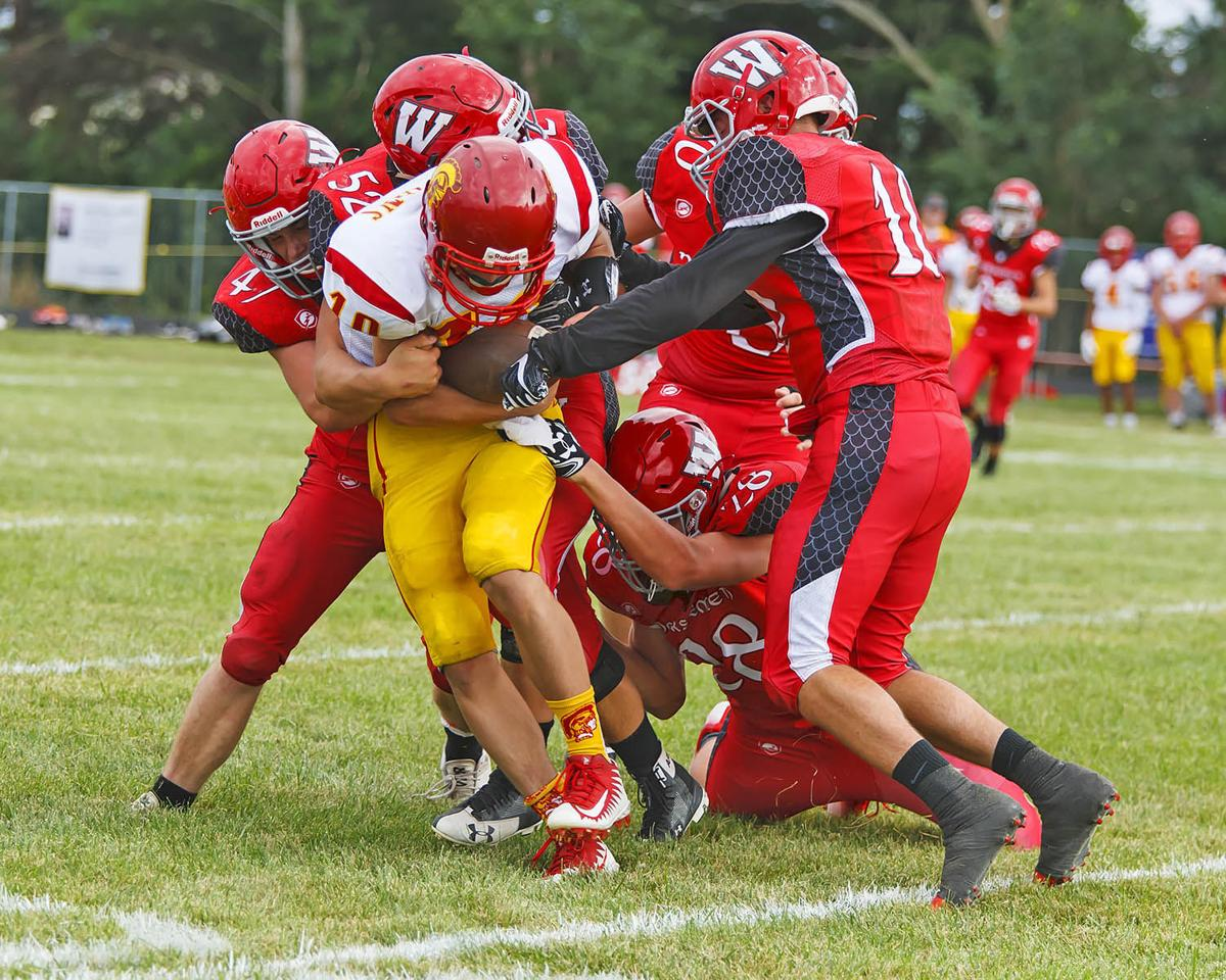 fb: Westby team tackle