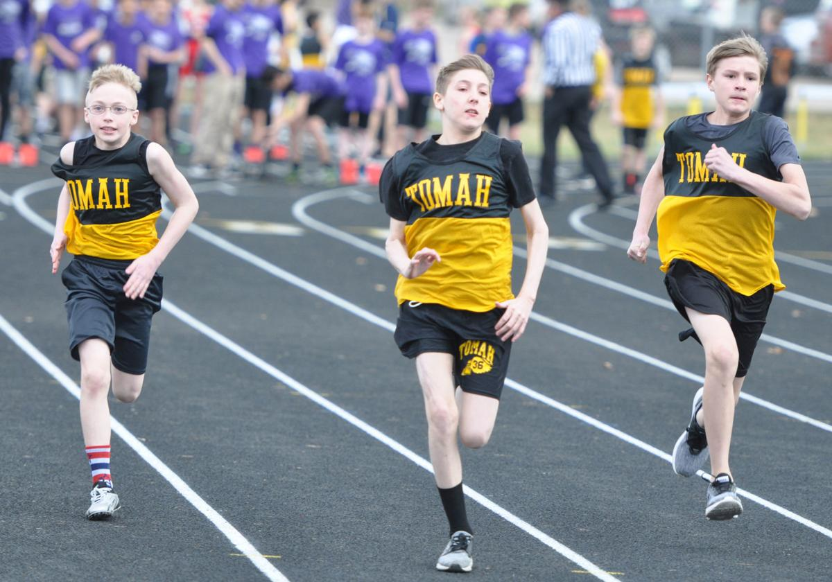 Sprint trio