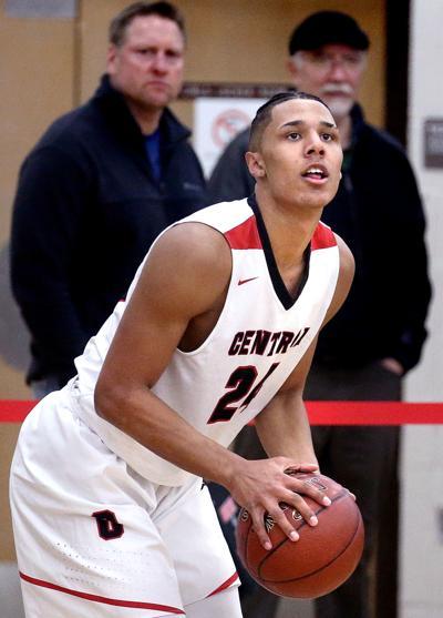 Central's Jordan Davis