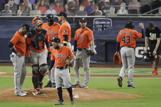 Say goodnight to the bad guys: Astros fall short in Game 7
