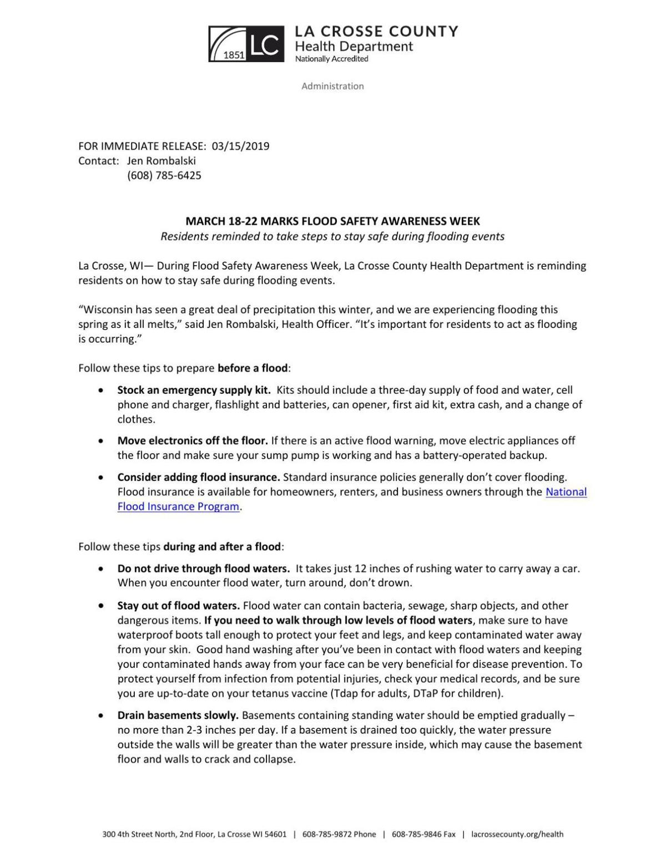 PDF: Flood safety tips