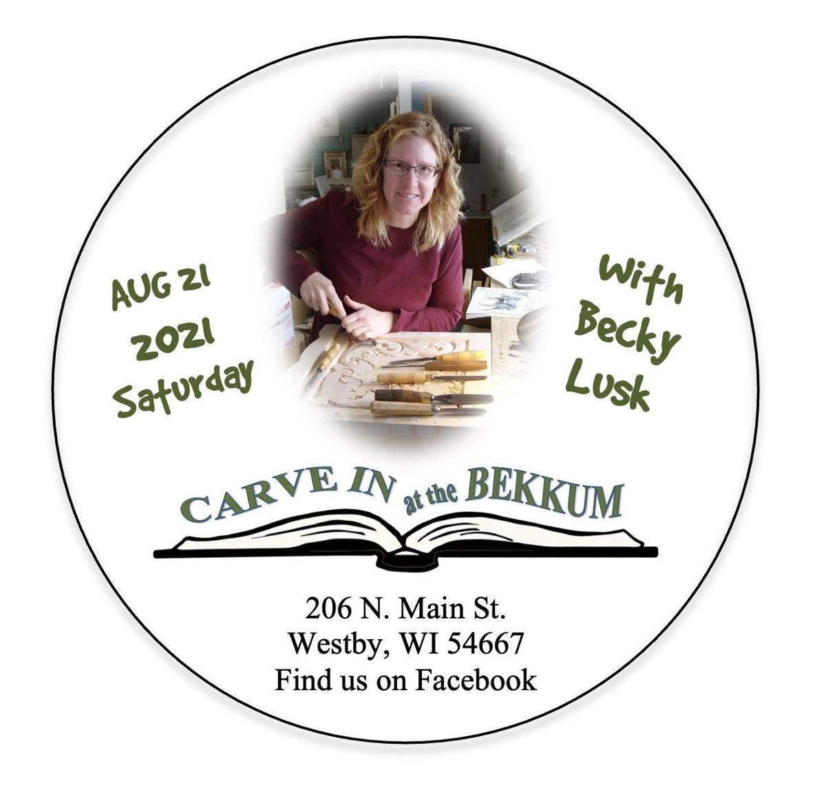 2021 Carve In @ the Bekkum collectors button