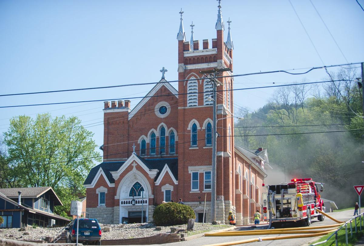 Fire at Saint Mary's Immaculate Church in Fountain City