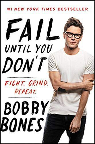 Book cover: 'Fail Until You Don't' by Bobby Bones