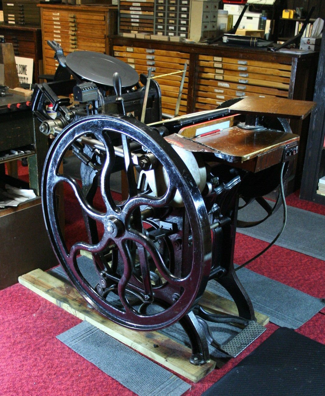 Things That Matter: Adolph Liesenfeld's printing press