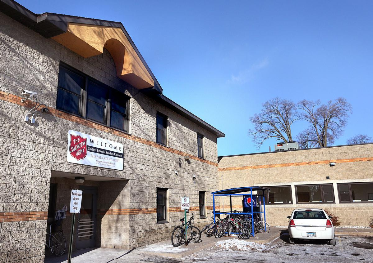 Salvation Army shelter in La Crosse