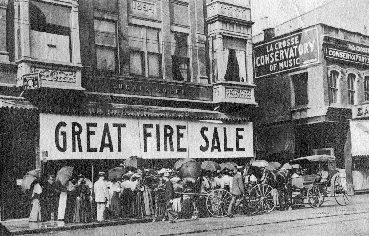 The Way it Was: 1907 fire sale