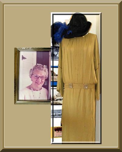 Clara Bekkedal's wedding dress