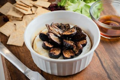 Baked Brie with Figs