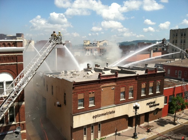 Downtown fire.1