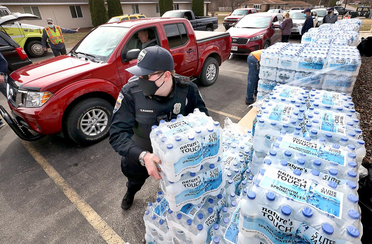 Campbell water distribution