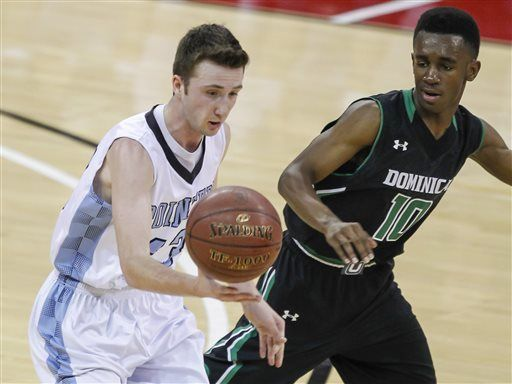 Prep boys basketball photo: Dominican bumped up to Division 3